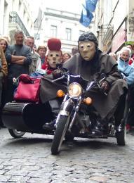 Harley jr. maskers