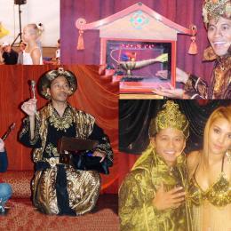 Aladdin 4 keer Magisch boeken of inhuren