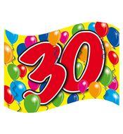 Gevelvlag 30 jaar bestellen | Partyspecialist.nl