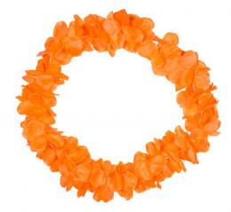 Oranje Hawai slinger | Partyspecialist.nl