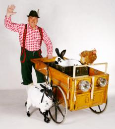 Duffy met zijn Dierenwagentje