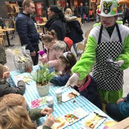 Kris kras paas cake terras kindershows nl