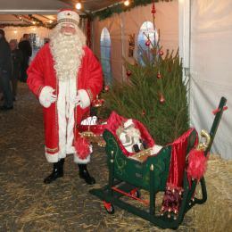 De Kerstman en zijn Vredesduiven