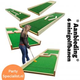 6 Minigolf of Klompjesgolfbanen Inhuren? | Partyspecialist.nl