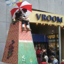 Schoorsteen Piet boeken of inhuren | Sint en Kerst