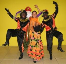 Mobiele dansende Flaminco Pieten