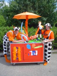 Oranje Surprise Car | Artiestenbureau JB Productions