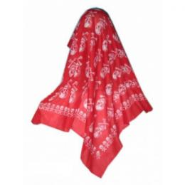 Piraten hoofddoek rood | Partyspecialist.nl