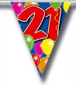 Vlaglijn verjaardag bestellen | Partyspecialist.nl