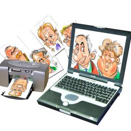 Digitale Karikaturist boeken of inhuren | JB Productions