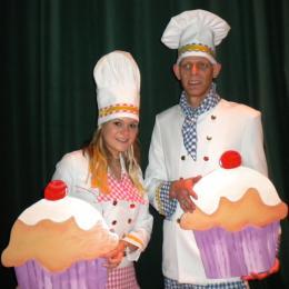 Cupcakes versieren voor evenementen inhuren | Artiestenbureau JB Productions