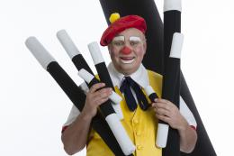 Clown Kriek Kindershow inhuren of boeken?