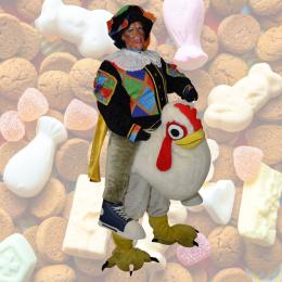 Harrie de Haan en Zwarte Piet huren of boeken