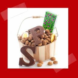 Mini chocolade letter versier terras huren of boeken | SintenKerst