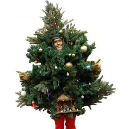 Het levende Kerstboompje! inhuren of boeken | Artiestenbureau JB Productions