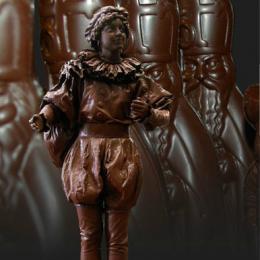 Levend Standbeeld - Chocolade Pietje inhuren | Sint en Kerst