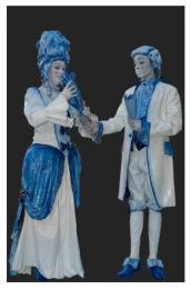 Levend Standbeeld - Duo Kunst & Kitsch inhuren of boeken? | JB Productions