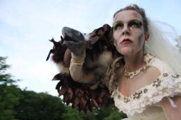 Steltloopact - Phantom Bride | Artiestenbureau JB Productions