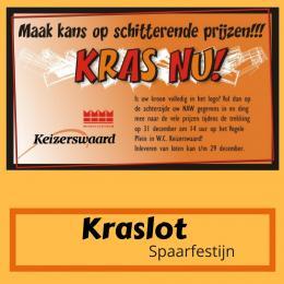 Kraslot Spaarfestijn inhuren of boeken? | Artiestenbureau JB Productions