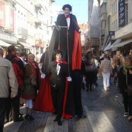 Dracula - De meester en zijn Leerling inhuren of boeken | Artiestenbureau JB Productions