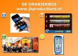 De Oranjekwis | JB Productions