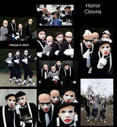 Horror Clowns - Mobiel straattheater | JB Productions