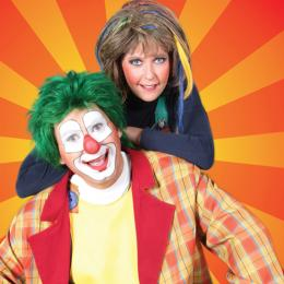 Theatershow Clown Jopie & Tante Angelique boeken of inhuren