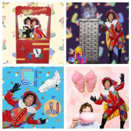 Het Zwarte Pieten Parcours - Klein huren of boeken | SintenKerst