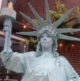 Levend Standbeeld - Het Vrijheidsbeeld | JB Productions
