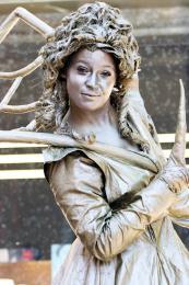 Levend Standbeeld - Gold Queen boeken of inhuren | JB Productions