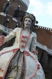 Levend Standbeeld - 18e eeuwse Hertogin   Artiestenbureau JB Productions