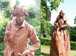 Levende Standbeelden - Jonkvrouw en Koopman | JB Productions