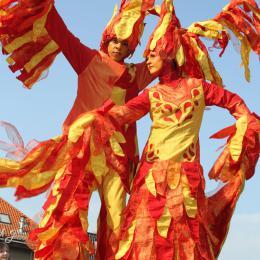 Steltloop Act Vuur inhuren of boeken? | JB Productions