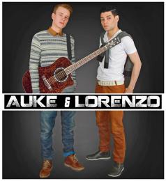 Auke en Lorenzo