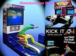 Simulatoren deal  - Voetbal Simulator ? Jetski Simulator ? Motor Race Simulator inhuren | JB Productions