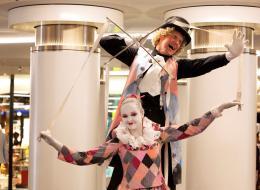 Steltoop Act - Ballet en Dansen op Stelten