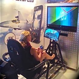 F16 Vlieg Simulator huren of boeken?