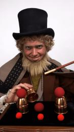 De Charles Dickens Goochelaar boeken of inhuren | SintenKerst