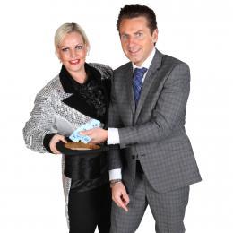 Shoppen en Winnen - De mobiele Winkelcentrum Spelshow boeken of inhuren | JB Productions