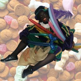 Ballonnen moduleer Zwarte Piet boeken of huren | Sint en Kerst