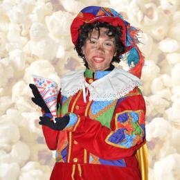 Zwarte Pieten Popcornstand huren of boeken