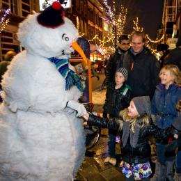 Sneeuwman - animatie act boeken of inhuren | Sint en Kerst