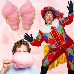 Zwarte Pieten Suikerspinstand