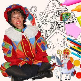 Sinterklaas Kleurwedstrijd huren of boeken