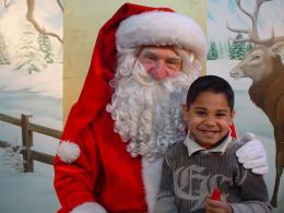 kerstman huren voor op de foto actie | JB Productions
