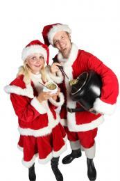 Erwtensoep uitdelen inhuren | Sint en Kerst
