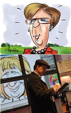 Digitale Karikatuurtekenaar - Harold | JB Productions