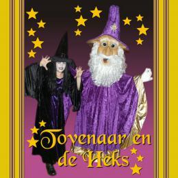 De Heks en de Tovenaar boeken of inhuren | JB Productions