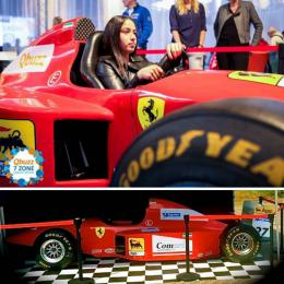 Formule 1 Full Scale Simulator huren of inhuren | Artiestenbureau JB Productions