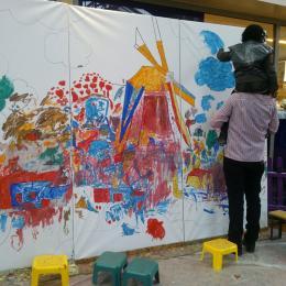 Kunst 4 Kids met Voorjaarstekening
